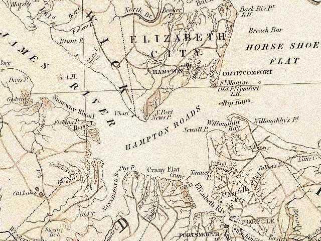 Hampton_Roads_1859